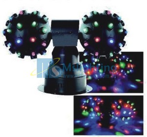 LED Double Colorful Magic Ball